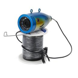 Wholesale Underwater Fishing Videos - Wholesale-WIFI Wireless 20M Professional Fish Finder Underwater Fishing Video Camera 1000TVL HD Camera Video Recorder APP