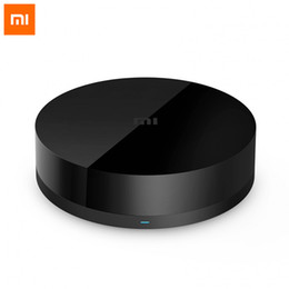 Wholesale Universal Media Remote - Wholesale-Original Xiaomi Mi Smart Home Infrared Universal Wireless Remote Control 360 Degree Controller All-In-One Media Control Center