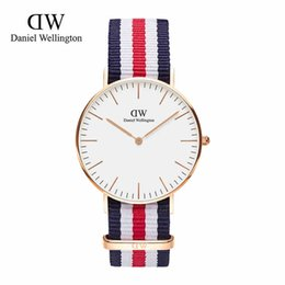 Wholesale Multi Clock - Fashion Daniel Watch 40mm men watches 36mm Women Watches Luxury Brand Quartz Watch Female Clock Relogio Feminino Montre Femme