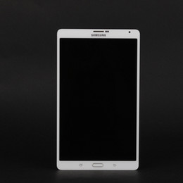 Wholesale Galaxy S Lcd Display - New Samsung Galaxy Tab S SM-T705 LCD Display Tablet Touch Screen Front Scheibe Digitizer White Black