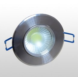 Wholesale Wholesale Cold Cuts - Wholesale- 1pcs Free Shipping Dimmable 10W Recessed COB Led Spot Downlight driver included Warm White Cold White Cutting hole 70-75mm
