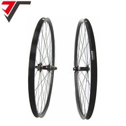 Wholesale Chinese Wheel Bike - TRIPS Chinese 29er bike wheels 27mm width asymmetric carbon mountain bicycle wheelset mtb 29inch carbon wheels hookless disc wheels