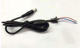 Wholesale laptop dc power cable - 20pcs Computers & Networking Computer Cables & Connectors 5.5x2.5mm DC Power Charger Plug Cable Connector Laptop adapter