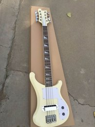 Wholesale Guitar Natural - New Arrival 8 String 4003 Electric Bass Guitar Cream natural 160905
