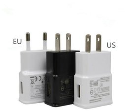 Wholesale Dock For Galaxy S3 - USB Wall Charger 5V 2A AC Travel Home Charger Adapter US EU Plug for Samsung Galaxy S3 S4 S5 I9600 Note 2 3 N9000