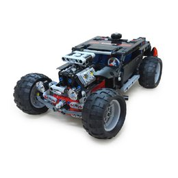 Wholesale Model Hummer Car Toys - DECOOL Hummer Building Blocks Technic Transport SUV Racing Car Truck Model Toys Brick Toys For Children Hummer Toys Brick