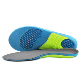 Wholesale Tpu Sports Shoes - PU foam sport insole health Feet Care TPU shell orthopedic insoles for adults shoes Flat Foot Arch Support Orthotic Pads