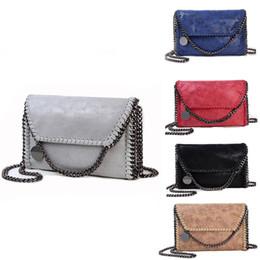 Wholesale Small Messenger Satchel - Women bag vintage leather satchel chain bag stella party shoulder messenger handbag michael korse clutch brand luxury designer fashion bag