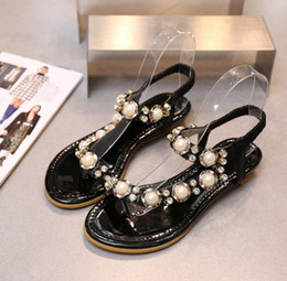 Wholesale Girls Crystal Wedge - New Summer Style Women Fashion High-Heel Crystal Shoes Ladies Sexy Fish-Mouth Wedge Sandals Girls Lovely Flowers Casual Slippers Wedge Heel