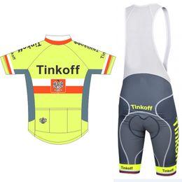 Wholesale New Team Jersey Bibs Cycling - 2017 New ! Men's Pro Team Cycling Jersey Set. Short Sleeve Bicycle Cycling Clothing + Bib Shorts Bike Wear Shirts Maillot Ropa Ciclismo Mtb