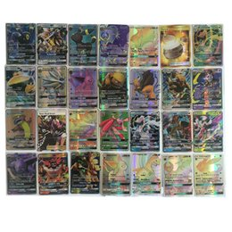 Wholesale Pc Games Children - 2017 Poke Card series 20 GX pcs a lot children adult Poke English card toy game trade card games
