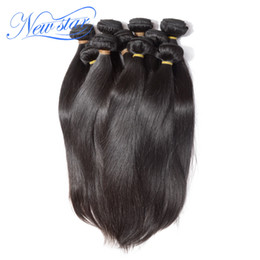 Wholesale New Star Brazilian Hair - Wholesale-1kg New star mink brazilian virgin human hair extension silk straight style 100% unprocessed natural colors full wholesale price