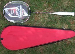 Wholesale Graphite Wholesale - badminton racket N90III carbon badminton racket 100% carbon fibre high quality 2 pcs lot free shipping by EMS