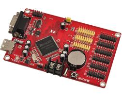 Wholesale Serial Led Display - wholesale LED display system card with USB and Serial