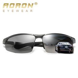 Wholesale Wayfarer Half Frame - Brand Designer Polarized Sunglasses for Men Aviator Sun Glasses Mens Luxury Sunglass Aviator Mens Driving Wayfarer Half Frame High Quality
