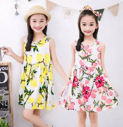 Wholesale Home Nightgown - Girls Nightgown Thin summer Cotton dress Girl Dress Home wear Beautiful princess Sweet and lovely and Youthful vigor