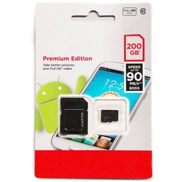Wholesale Uhs Memory Cards - New Genuine capacity 32GB 64GB 128GB 200GB Class 10 Micro SD SDHC UHS-1 Memory Card