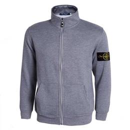Wholesale Mens Collar Cardigan - Hot Sell 2017 spring new arrival mens island cardigan hoodies sweatshirt casual cotton sportswear mens stone jacket hoody plus S-3XL