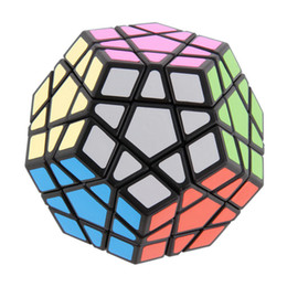 Wholesale Megaminx Cube - Hot! Special Toys 12-side Megaminx Magic Cube Puzzle Speed Cubes Educational Toy New Sale