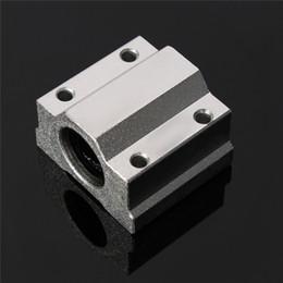 Wholesale Shaft Block Bearing - SC8UU SCS8UU 8mm Slide Unit Block Bearing Steel Linear Motion Ball Bearing Slide Bushing Shaft CNC Router DIY 3D Printer Parts