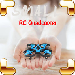 Wholesale Diecast Machines - New Arrival Gift 4CH 2.4G 6 Axis Remote Control Helicopter Mini RC Quadcopter Electric Toys Small RTF Dron LED Air Machine