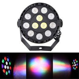 Wholesale Led Color Wash - High Quality Led Par 15W 12 LED RGBW 4IN1 DMX 8CH Beam DJ Wedding Wash Stage Light Led Lamp