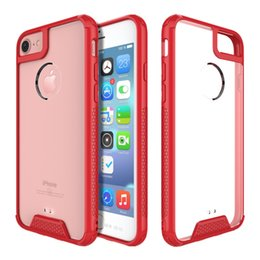 Wholesale Acrylic Plastic Products - New styles Acrylic phone case for iphone 6 6plus 7 7plus samsung S8 S8 plus TPU+PC Hot sell products