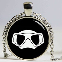 Wholesale China Sports Necklace - 2017 newest casual jewelry swimming necklace charm minimalist swimming men art silhouette pendant sports team gift