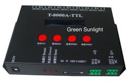 Wholesale Led Pixel 2811 - 512 pixel light controller T8000A led controller for full color digital light control ic 1903 2811 6809