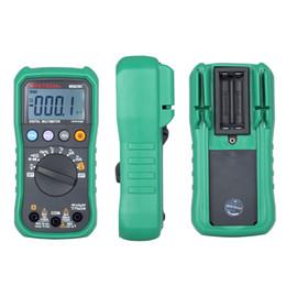 amperio metro dc Rebajas Pantalla LCD multímetro digital MS8239C Retroiluminación AC / DC Ampre Volt Ohm Hz Medidor portátil de rango automático amperímetro