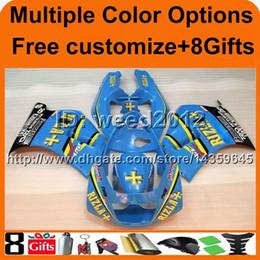 Wholesale 1995 Suzuki Fairings - 8 gifts+ RGV250 VJ22 91 92 93 94 95 96 ABS Fairing for Suzuki RGV250 1991-1996 1992 1993 1994 1995 VJ22