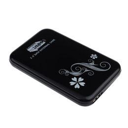 "Внешний корпус hdd 3.5 sata онлайн-Wholesale- Aluminum case HDD(HDD not include) External Enclosure Tool 2.5 inch USB 3.0 Hard Drive Disk Box Case for 9.5mm 2.5"" SATA HDD SSD"