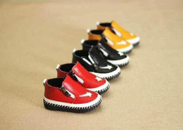 Wholesale Cheap Prices Shoes - wengkk store HU kids sneakers 2016 best selling baby real leather shoes with top quality cheap price 2 pairs free DHL shipping