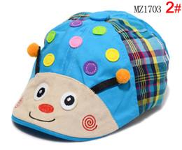 7b220807388 Wholesale 10 pcs Unisex Berets Children Baby Cute Cartoon Ladybug Design  Berets Hats Kids Spring Autumn Cotton Caps MZ1703 on sale