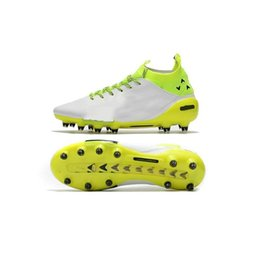 Wholesale Cheap Big Boots - 2017 New original have big size soccer cleats evoTOUCH PRO FG football soccer shoes high ankle football boots socks cheap size EUR 39-46