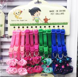 collari di cane nero arancione Sconti [con colletto di prua] animali domestici cani e gatti Accessori per campane arco 4 pattern random a colori