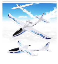 Wholesale Rc Foam Airplane - Wholesale-Wltoys F959 Sky King 3CH RC Airplane Push-speed glider Fixed Wing Plane VS WLtoys F929 F939 F949 BNF