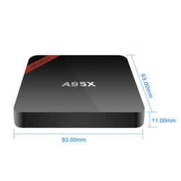 Wholesale Hdmi Android For Tv - A95X TV Box Android 6.0 Amlogic S905X Quad core 1G 8G kd 16.1 Pre-installed Wifi Media Player For TV