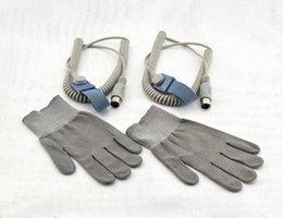 Wholesale Magic Gloves Skin - Elitzia Magic Gloves BIO Face Lift Micro-current Facial Skin Care Machine Accessory