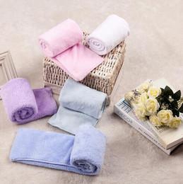 Wholesale Towel Textile Wholesale - 35*70cm Soft Face Towels Coral Fleece Towels Of Strong Water Imbibition Bath Sheets Absorbent Face Towel Home Textiles CCA6538 50pcs