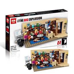 Wholesale Amy Toys - Lepin 16024 The Big Bang Theory Building Block Set Leonard Sheldon Penny Howard Raj Amy Bernadette Toy Christmas Gifts with box
