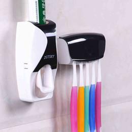 großhandel zahnpasta zahnbürste Rabatt ONEUP 2016 Neue Mode Automatische Zahnpasta Zahnpasta Gerät Gürtel Zahnbürstenhalter Squeezer Badezimmer Set Bad-accessoires