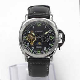 Wholesale Star Works - BF-1309B Tourbillon Star Holder Men's Watch High-quality AAA leather strap GA110 small pointer can work DZ7312