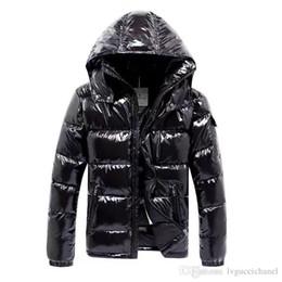 Wholesale Warm Dress Coats - Wholesale Men Casual Down Jacket MAYA Down Coats Mens Outdoor Fur Collar Warm Feather dress Winter Coat outwear outer wear JACKETS