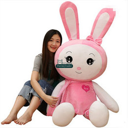 Wholesale Nice Rabbits - Dorimytrader New Lovely Huge 170cm Soft Plush Cartoon Bunny Plush Toy 67inches Large Plush Anime Rabbit Doll Pillow Nice Girl Gift DY61621