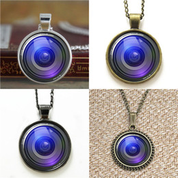 Wholesale Jewelry Lenses - 10pcs Camera Lens Pendant Photographer Photography Jewelry glass photo cabochon Necklace keyring bookmark cufflink earring bracelet
