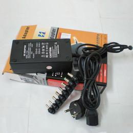 Canada Hot vente universelle 96W pour ordinateur portable pour ordinateur portable Chargeur AC Adaptateur secteur dell plug avec US / EU / AU / UK fiche retial packag Adaptateur avec 8 connecteurs Offre