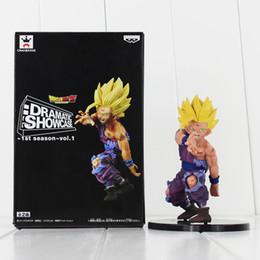 Wholesale Banpresto Figure - New Banpresto Dragon Ball Z Son Gohan PVC Action Figures DRAMATIC SHOWCASE Dragon Ball Gohan Model Toy 11cm Doll Figures