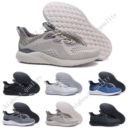 Wholesale Rubber Bounce Shoes - Wholesale Cheap Hot Sale Alphabounce EM Boost 330 Running Shoes Alpha bounce Sports Trainer Sneakers Man Shoes With Box Eur 40-45 US 7-11