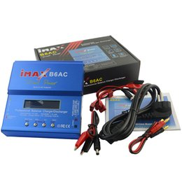 Wholesale Battery Charger 6a - iMAX B6AC 80W 6A Dual Power RC Lipo Battery Balance Charger Discharger 50W 5A Optional